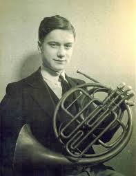 The horn-playing legend, Dennis Brain visited Dundee in 1956 to play for Dundee Chamber Music